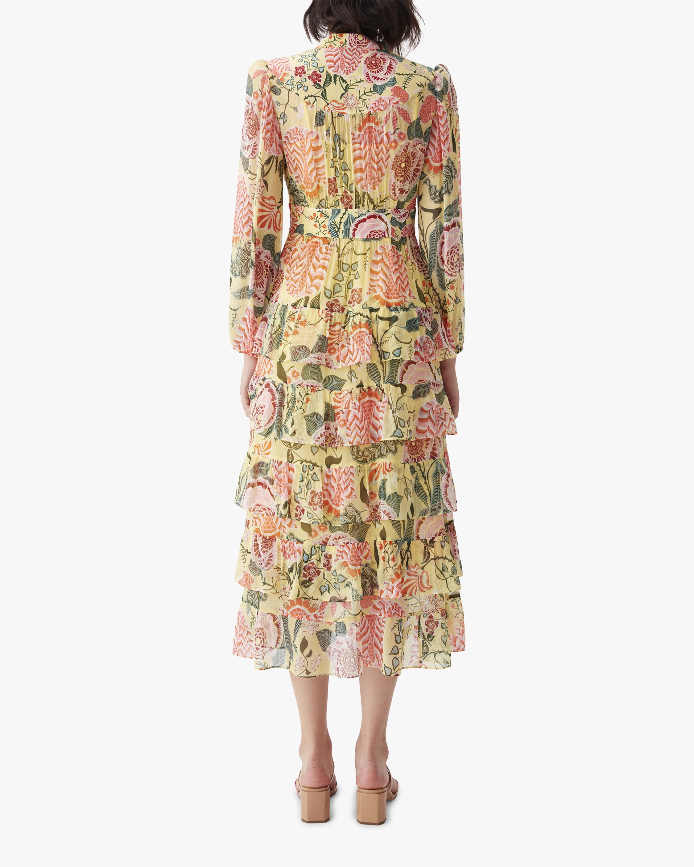 Diane von Furstenberg Abeni Midi Dress 1
