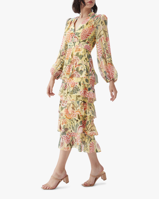 Diane von Furstenberg Abeni Midi Dress 2