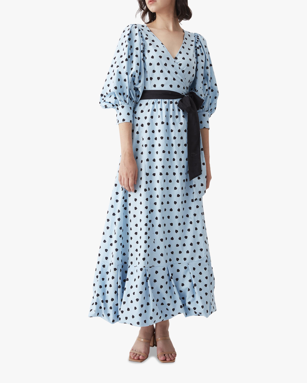 Diane von Furstenberg Ulrica Maxi Dress 0