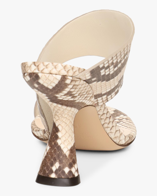 Nicholas Kirkwood Snake-Print Brasilia Mule Sandal 5