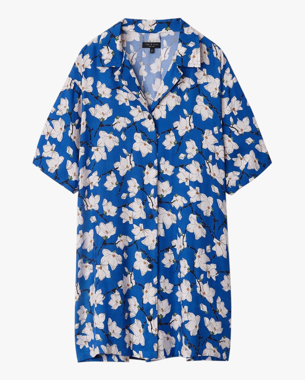 rag & bone Reed Shirt Dress 0