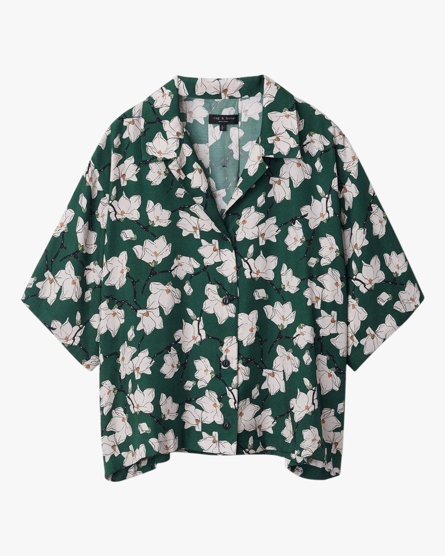 rag & bone Floral Reed Shirt 0