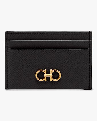 Salvatore Ferragamo Gancini Credit Card Holder 1