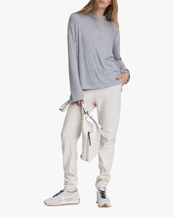 rag & bone The Knit Rib Hoodie 2