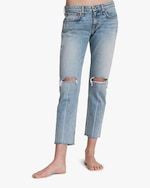 rag & bone Dre Low-Rise Slim Boyfriend Jeans 2