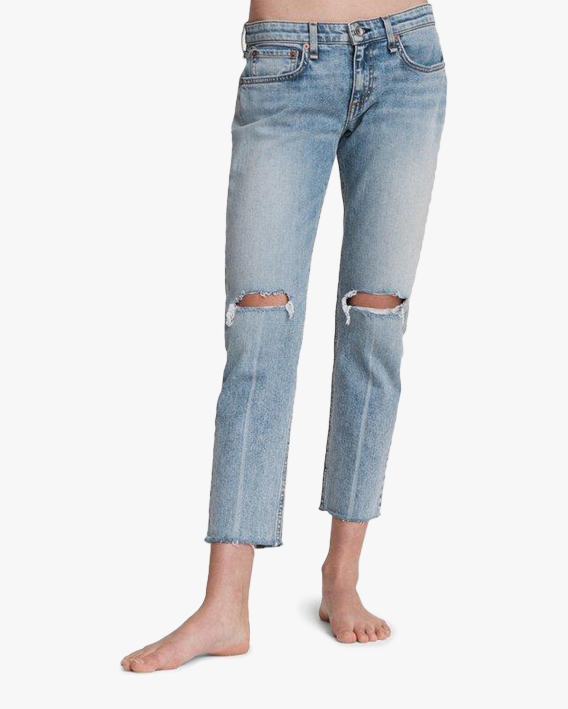rag & bone Dre Low-Rise Slim Boyfriend Jeans 2