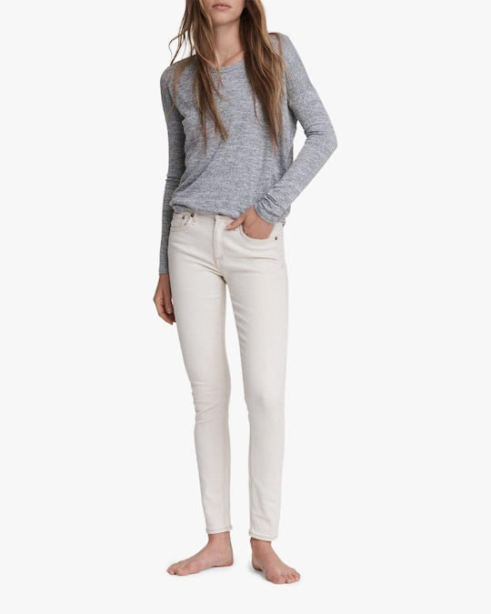 rag & bone Cate Mid-Rise Skinny Ankle Jeans 1