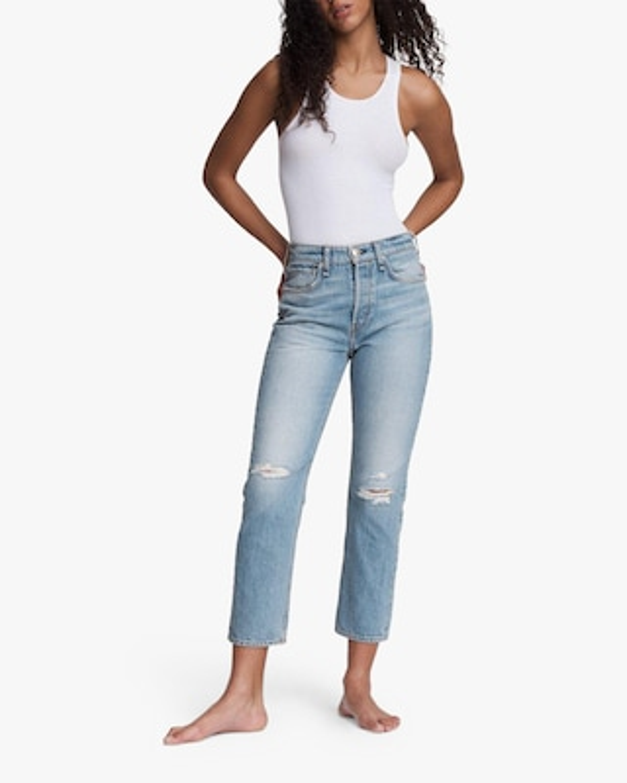 rag & bone Maya High-Rise Slim Ankle Jeans 2