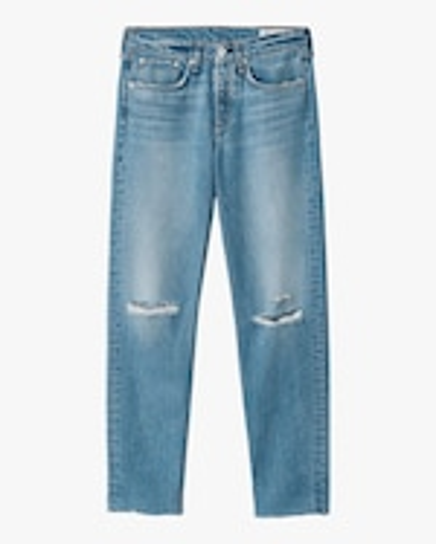 rag & bone Rosa Mid-Rise Boyfriend Jeans 0
