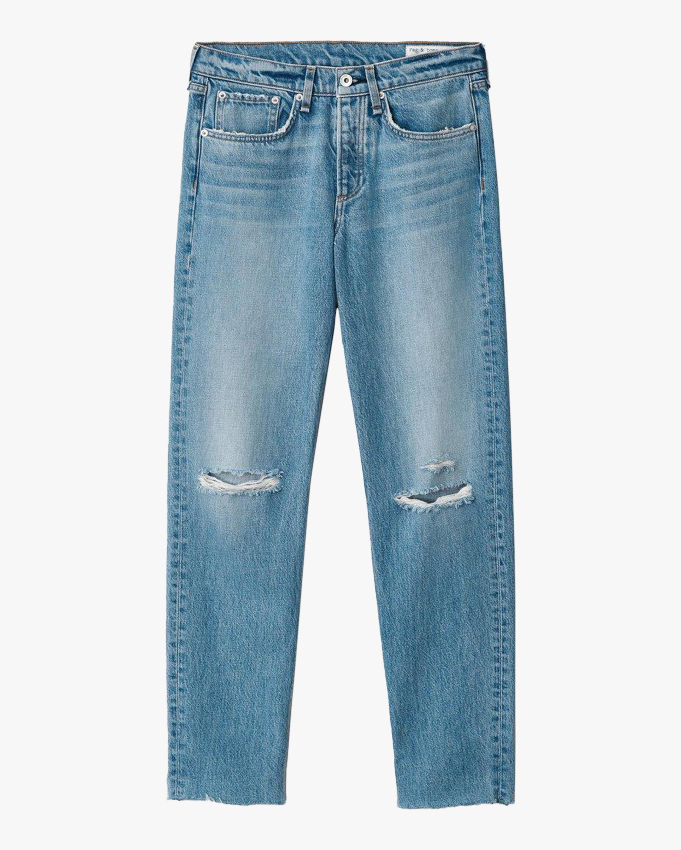 rag & bone Rosa Mid-Rise Boyfriend Jeans 1