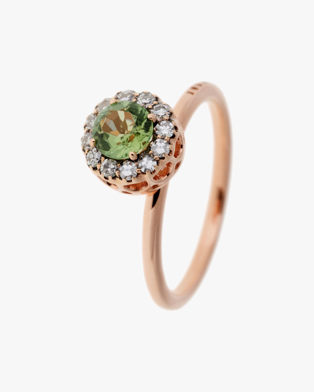 Selim Mouzannar Diamond & Tourmaline Ring 1