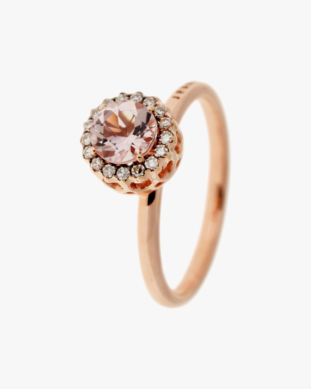 Selim Mouzannar Diamond & Morganite Ring 1