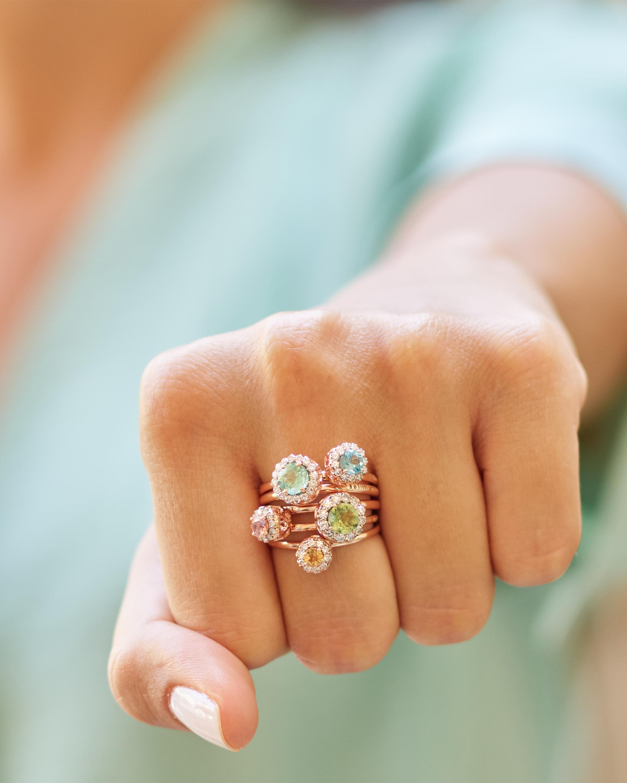 Selim Mouzannar Diamond & Morganite Ring 2