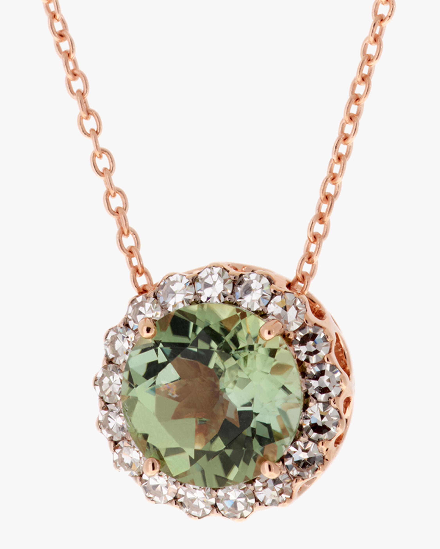 Selim Mouzannar Diamond & Tourmaline Pendant Necklace 2