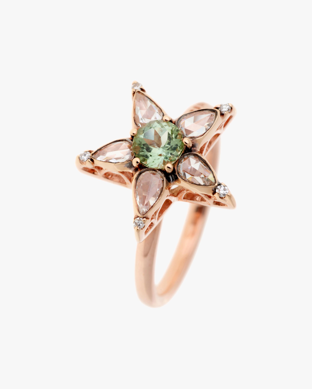 Selim Mouzannar Diamonds & Tourmaline Star Ring 0