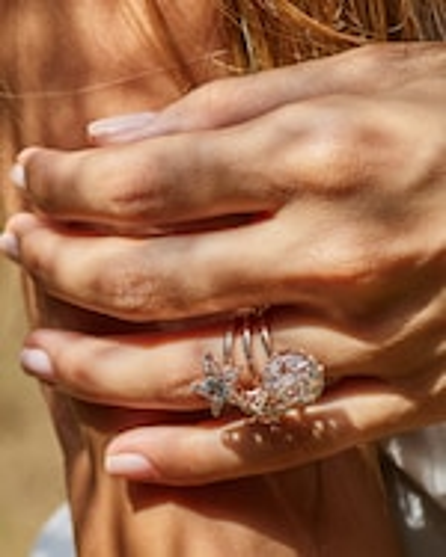 Selim Mouzannar Diamonds & Tourmaline Star Ring 1