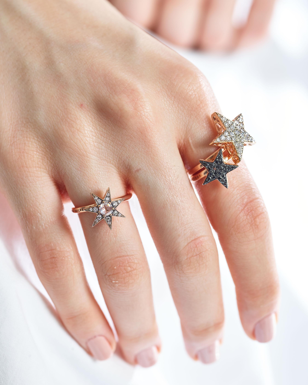 Selim Mouzannar Diamond Star Ring 2