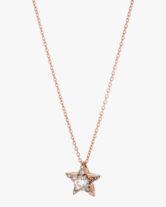 Selim Mouzannar Diamond Star Pendant Necklace 0
