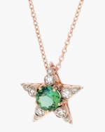 Selim Mouzannar Diamond & Tourmaline Star Pendant Necklace 3