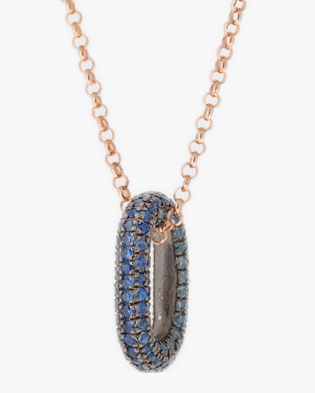 Selim Mouzannar Blue Sapphire Pendant Necklace 2