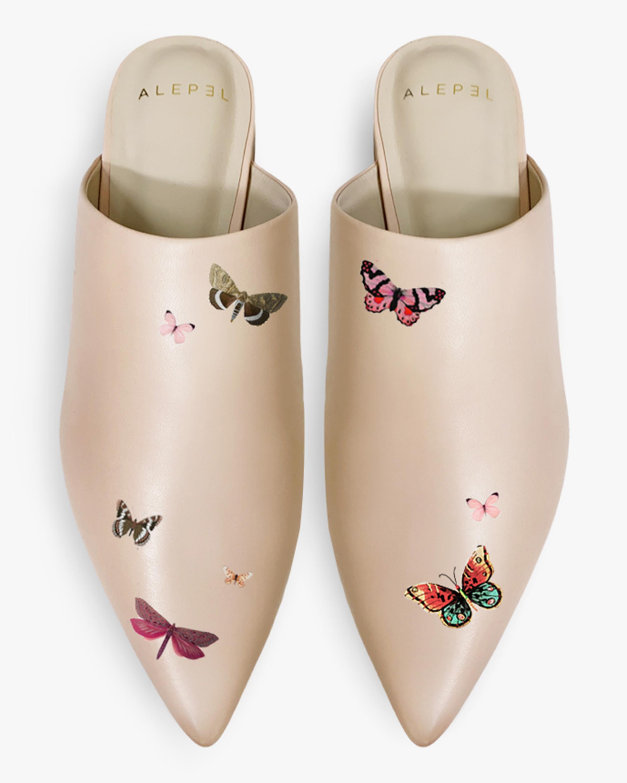 Alepel Butterflies Pointe Mule 1