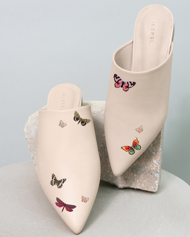 Alepel Butterflies Pointe Mule 2