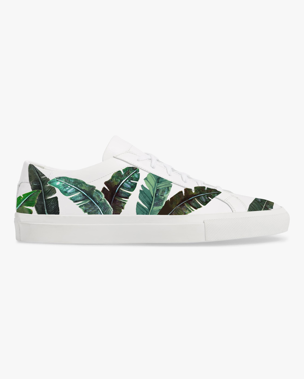 Alepel Green Palms Sneaker 1