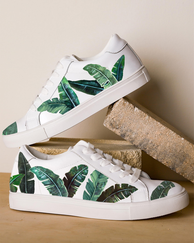 Alepel Green Palms Sneaker 2