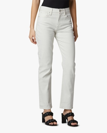 Hudson Holly High-Rise Straight Jeans 1