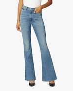 Hudson Holly High-Rise Flare Jeans 1