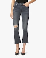 Hudson Barbara High-Rise Bootcut Crop Jeans 0