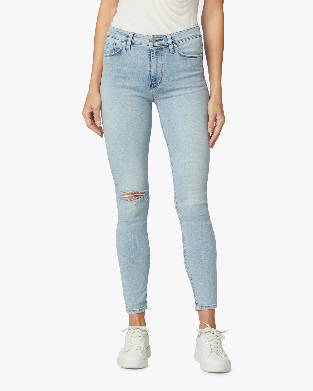Hudson Barbara High-Waist Super Skinny Crop Jeans 0