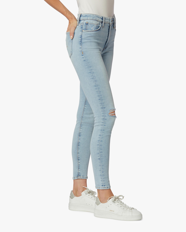 Hudson Barbara High-Waist Super Skinny Crop Jeans 2