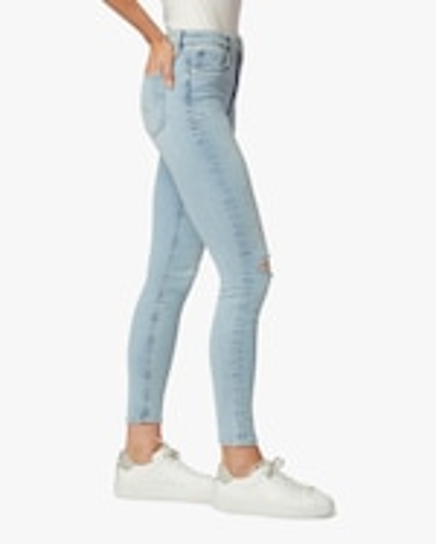 Hudson Barbara High-Waist Super Skinny Crop Jeans 3