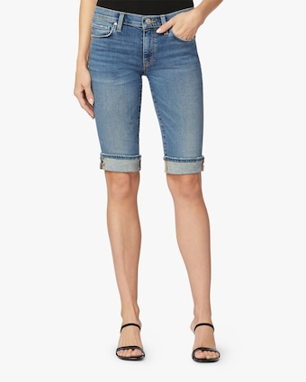 Hudson Amelia Cuffed-Knee Shorts 2