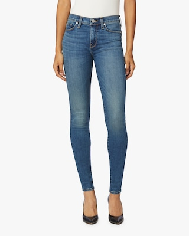 Hudson Nico Mid-Rise Super Skinny Ankle Jeans 1
