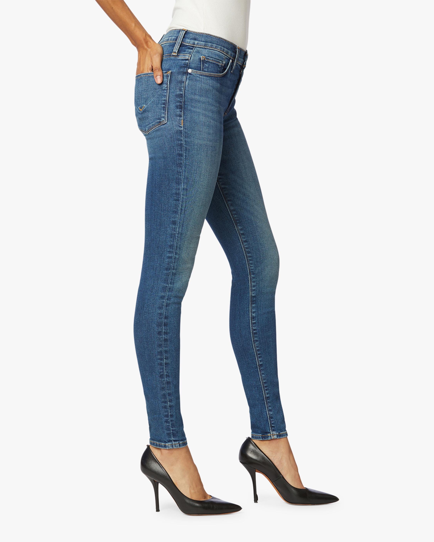 Hudson Nico Mid-Rise Super Skinny Ankle Jeans 2