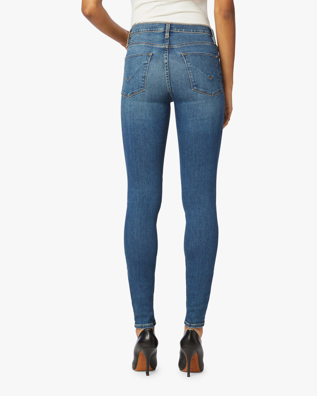Hudson Nico Mid-Rise Super Skinny Ankle Jeans 3
