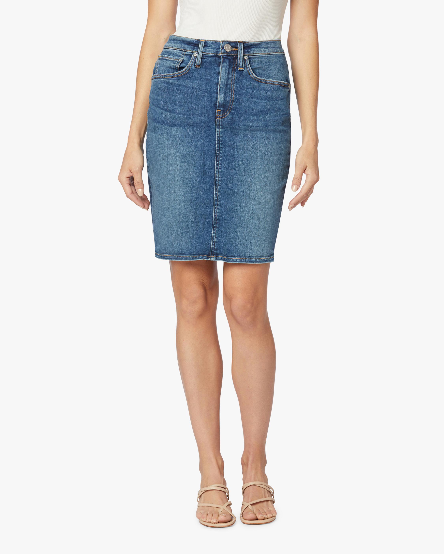 Hudson Centerfold High-Rise Skirt 1