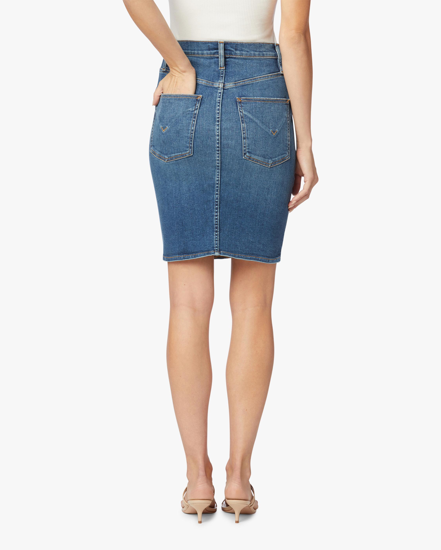 Hudson Centerfold High-Rise Skirt 2