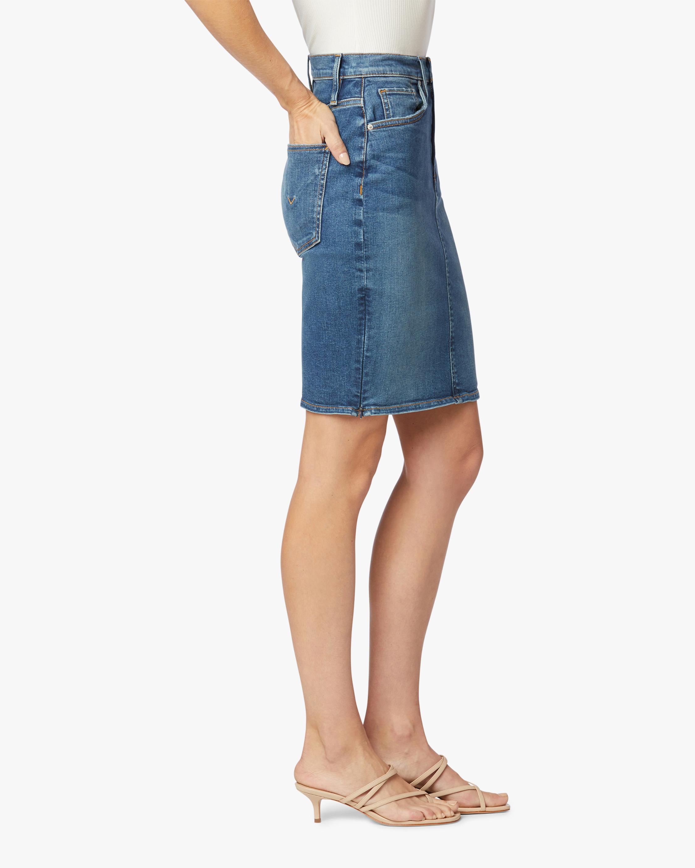 Hudson Centerfold High-Rise Skirt 3