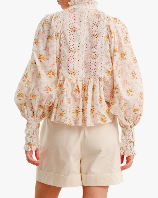 byTimo A-Line Puffed-Sleeve Blouse 1