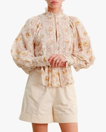 byTimo A-Line Puffed-Sleeve Blouse 3