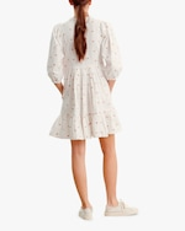 byTimo Embroidered V-Neck Mini Dress 1