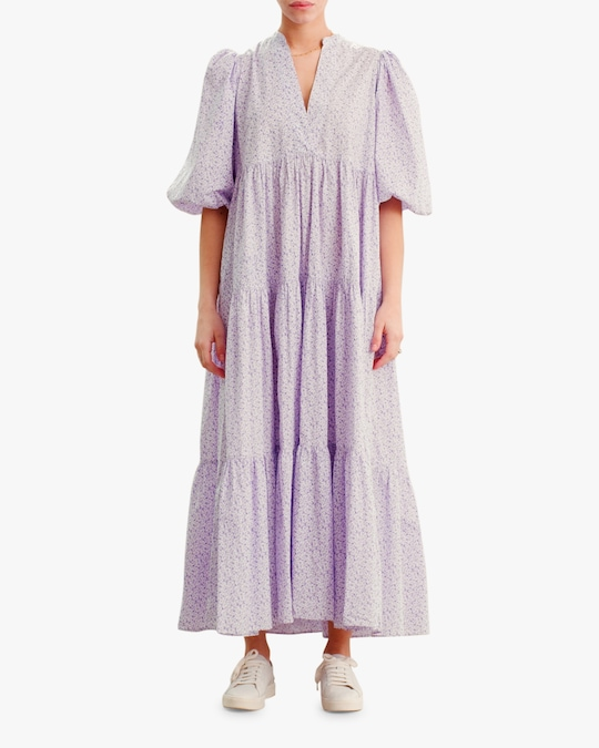 byTimo Puffed-Sleeve Maxi Dress 0