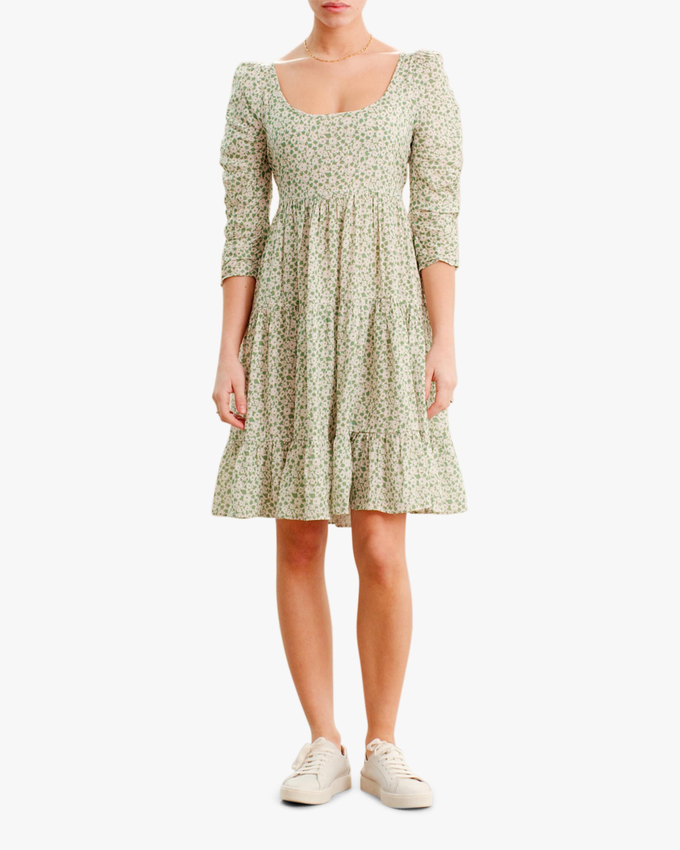 byTimo Round-Neck Mini Dress 1