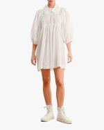 byTimo Collared Puff-Sleeve Mini Dress 0