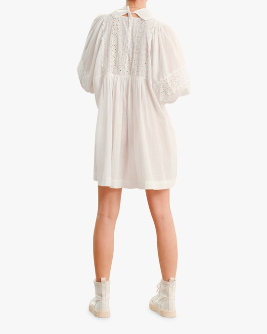 byTimo Collared Puff-Sleeve Mini Dress 1