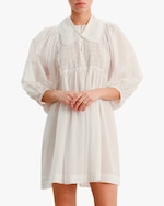 byTimo Collared Puff-Sleeve Mini Dress 3