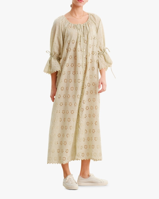 byTimo Broderie Anglaise Maxi Dress 0